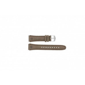 Timex cinturino orologio T44381 Pelle Marrone 20mm