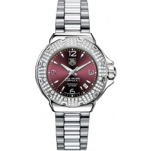 Cinturino per orologio Tag Heuer WAC1219-BA0852 Acciaio Acciaio