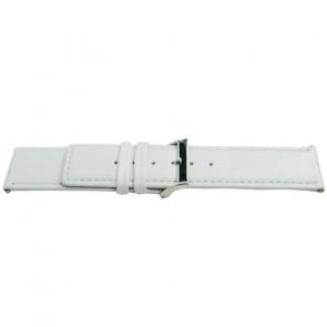 Cinturino per orologio Universale K505 Pelle Bianco 28mm