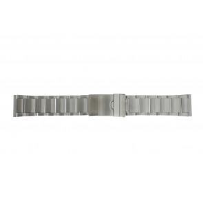 Cinturino per orologio Universale YI20 Acciaio Acciaio 24mm