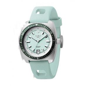 Cinturino per orologio Zodiac ZO2246 Gomma Blu chiaro