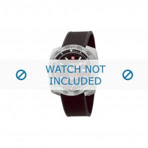 Zodiac cinturino dell'orologio ZO3701 Gomma Nero