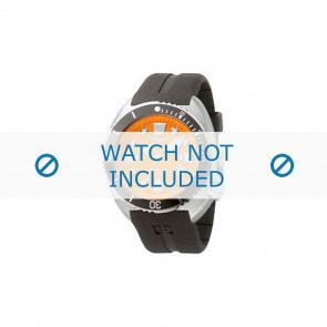 Cinturino per orologio Zodiac ZO8002 / ZO8001 Gomma Nero 21mm